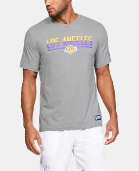 New Arrival Men's NBA Combine Authentic UA City Split T-Shirt  5  Colors Available $30