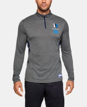 Men's NBA Combine Authentic UA Season ¼ Zip Long Sleeve  28  Colors Available $42
