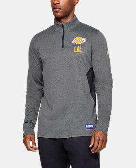 414a2c4a680 Men s NBA Combine Authentic UA Season ¼ Zip Long Sleeve 1 Color Available   42.99