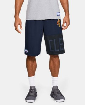 New Arrival Men's NBA Combine Authentic UA Game Season Shorts   $45