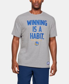 New Arrival Men's NBA Combine Authentic UA Winning Is A Habit T-Shirt  2  Colors Available $30