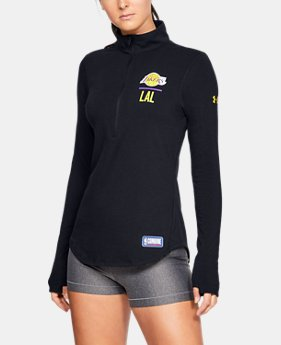 fa6a35b22509 Women s NBA Combine Authentic UA Lockup ½ Zip Long Sleeve 1 Color Available   60