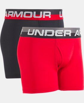 PRO PICK Boys' UA Original Series Boxerjock® 2-Pack  1 Color $14.99