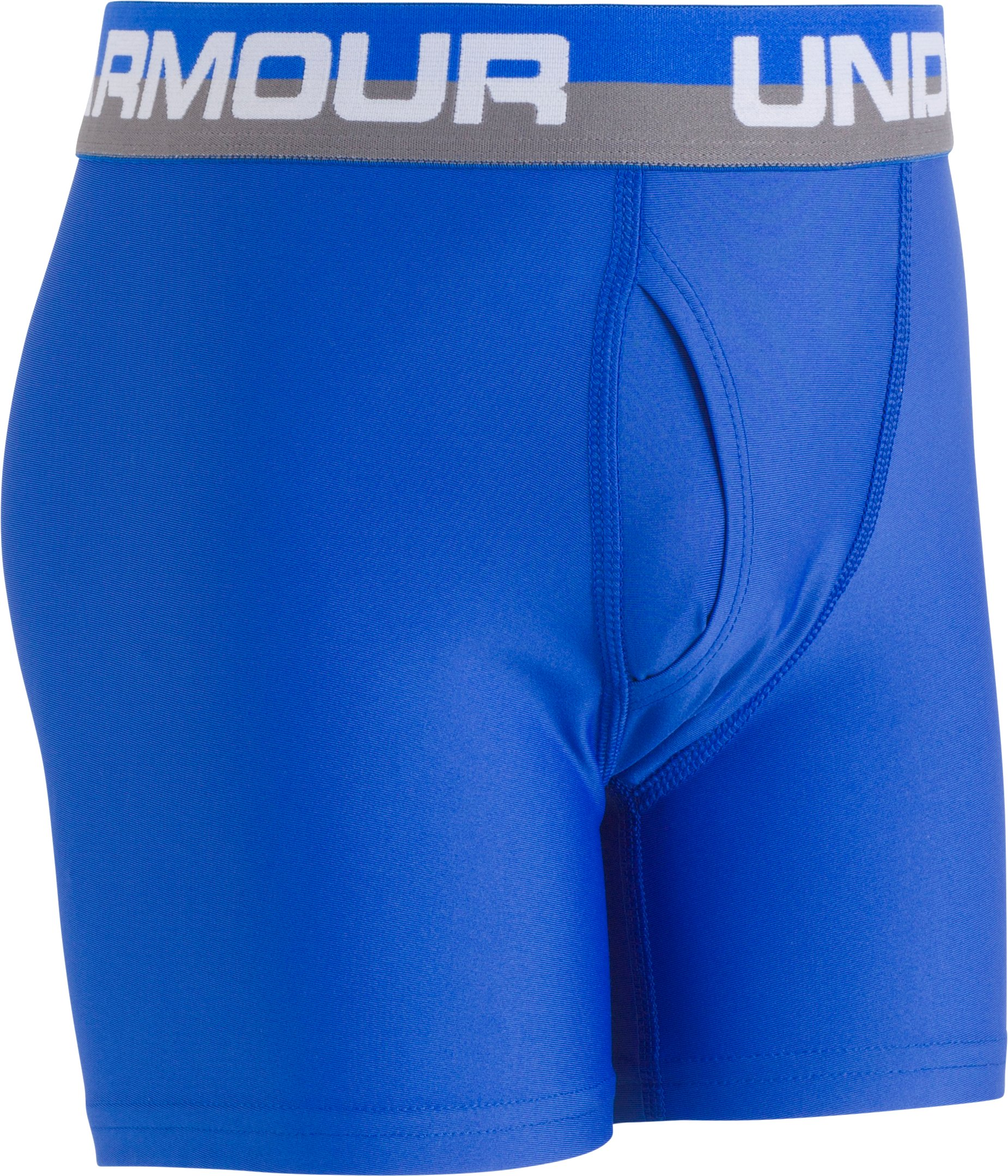 Boys' UA Original Series Boxerjock® 2-Pack, ULTRA BLUE, Laydown