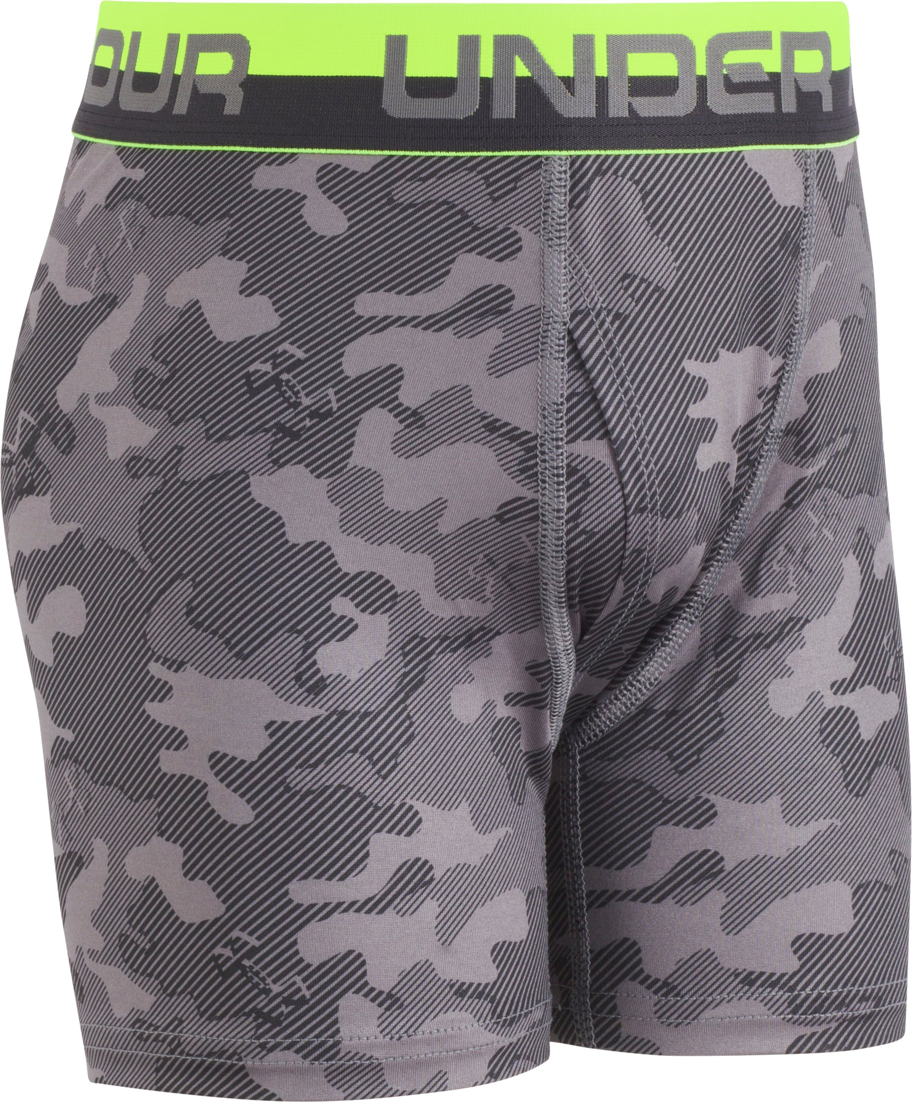 Boys' UA Original Series Camo Boxerjock® 2-Pack, Graphite