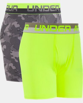 Boys' UA Original Series Camo Boxerjock® 2-Pack  1 Color $14.99