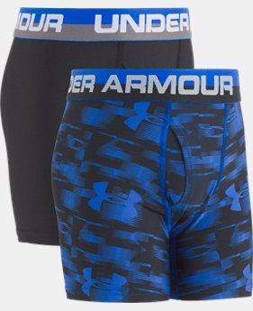 Boys' UA Original Series Blur Boxerjock® 2-Pack  1  Color Available $19.99