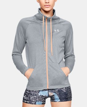 huge selection of 5f854 94cca Women s UA Tech™ Full Zip 2 Colors Available  41.99