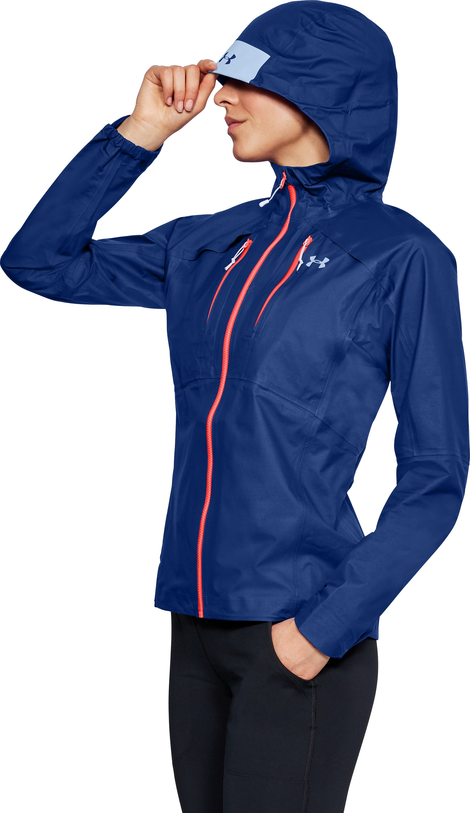 Women's UA Atlas GORE-TEX® Active Jacket, FORMATION BLUE,
