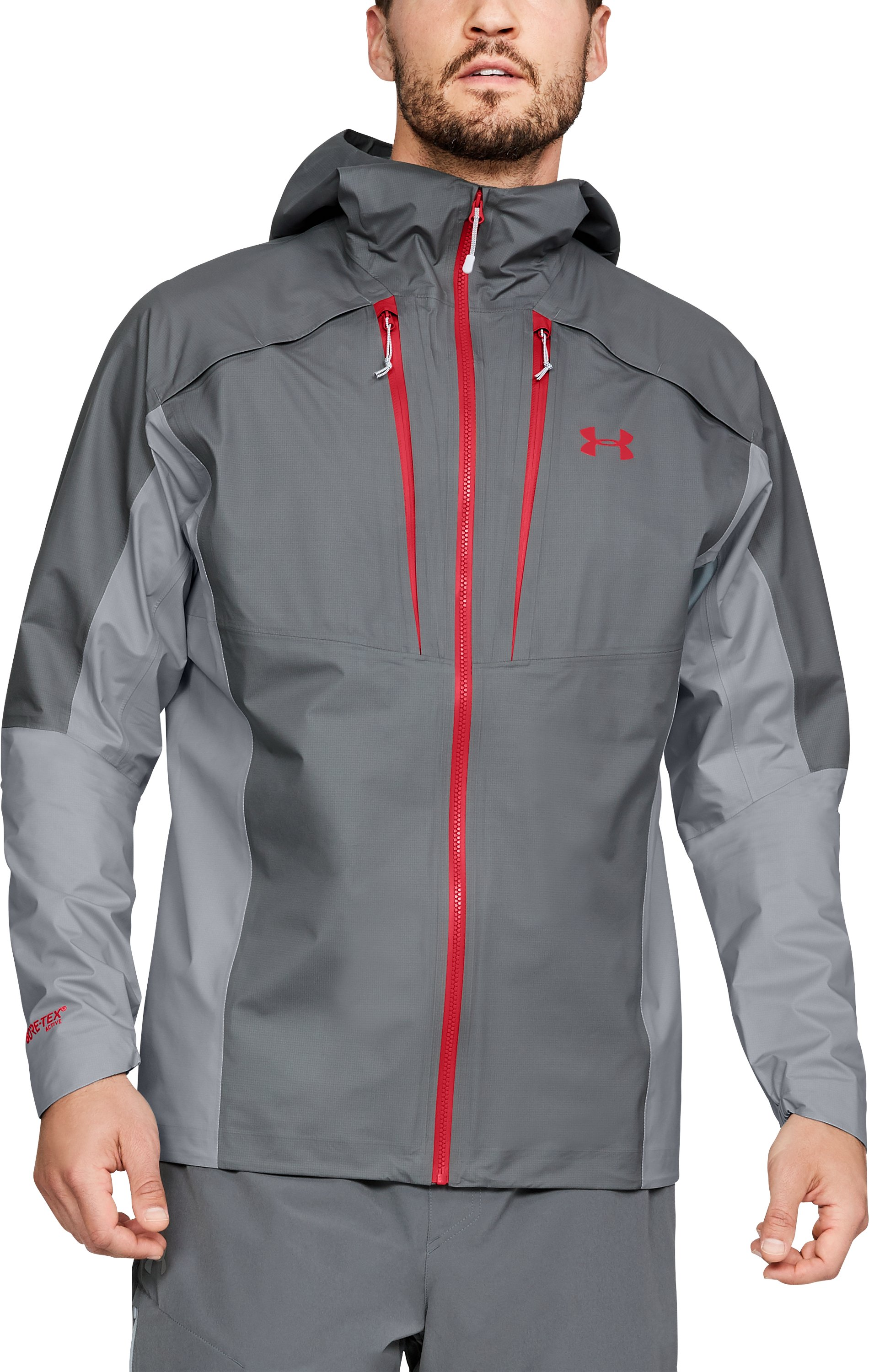 Men's UA Atlas GORE-TEX® Active Jacket, Graphite,