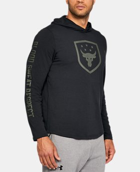 Best Seller Men's UA x Project Rock Troops Hoodie  2 Colors $49.99