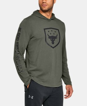 Best Seller Men's UA x Project Rock Troops Hoodie  1 Color $49.99