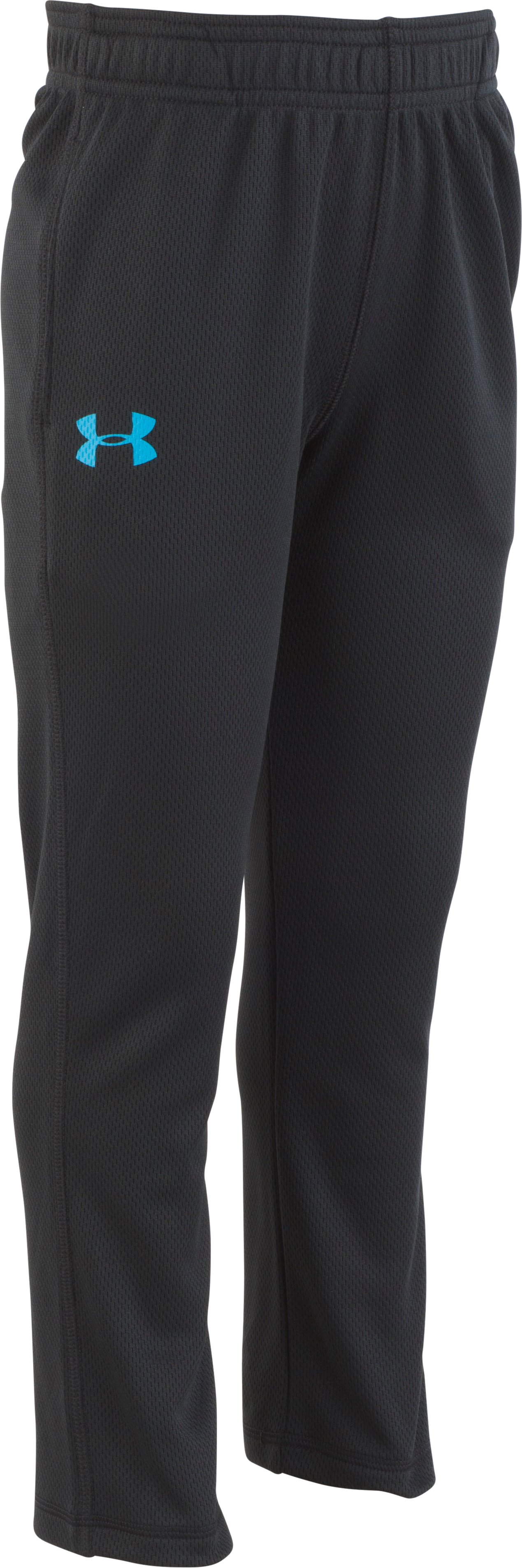 Boys' Toddler UA Brute Pants, Black , zoomed