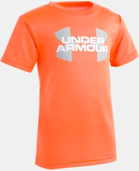 Boys' Pre-School UA Lenticular Logo T-Shirt  1  Color Available $17.99