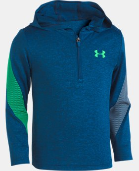 Boys' Pre-School UA Twist 1/4 Zip Hoodie  1  Color Available $36.99