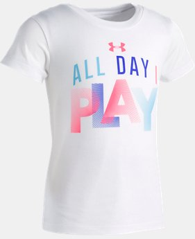 Girls' Toddler UA All Day I Play T-Shirt   1  Color Available $17.99