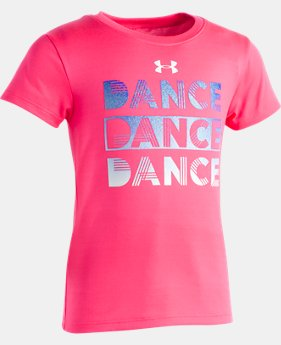 New Arrival Girls' Pre-School UA Dance T-Shirt  1  Color $17.99