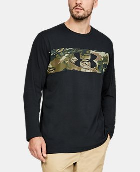Men's UA Banded Camo Long Sleeve  1  Color Available $35