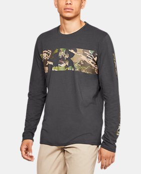 Men's UA Banded Camo Long Sleeve  5  Colors Available $35