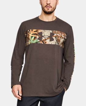 New Arrival  Men's UA Banded Camo Long Sleeve  1  Color Available $35
