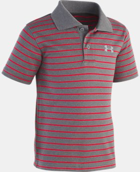 Boys' Toddler UA Playoff Stripe Polo  2  Colors Available $26.99