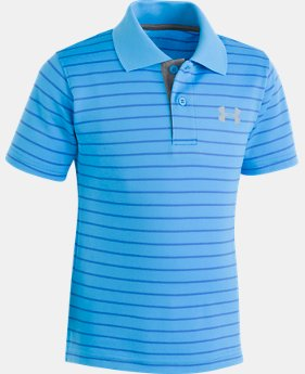 Boys' Infant UA Playoff Stripe Polo  1  Color Available $24.99