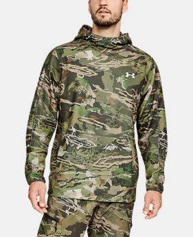 New Arrival Men's UA Zephyr Fleece Camo Popover  2  Colors Available $75