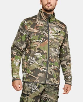 ef420bb370991e New to Outlet Men's UA Rut Fleece Full Zip Jacket 1 Color Available $65.99