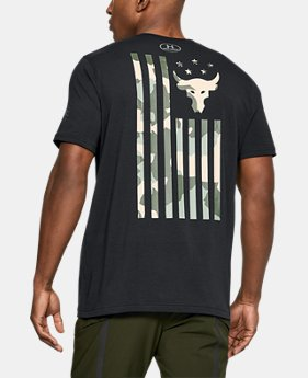Best Seller Men's UA x Project Rock USDNA T-Shirt  1 Color $34.99