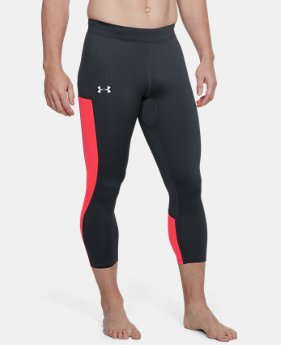 New Arrival Men's UA Speedpocket ColdGear® Run Crop  2 Colors $90