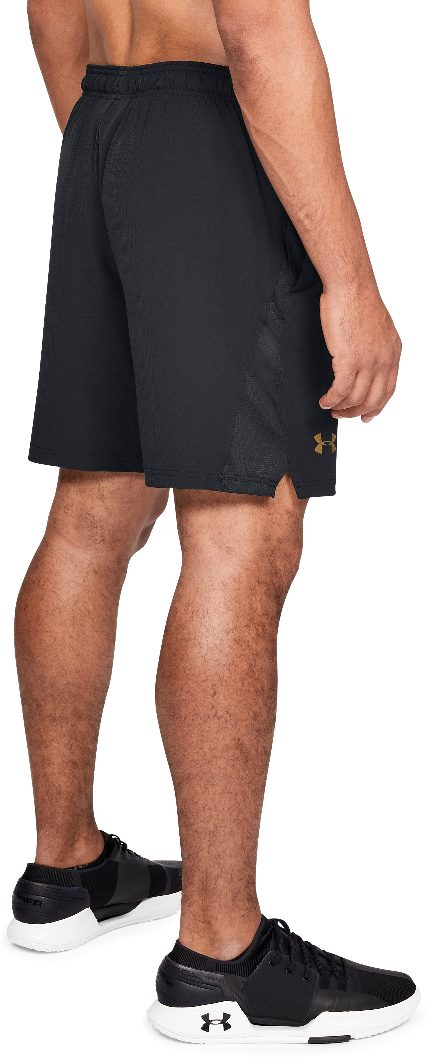Men's UA Podium Shorts, Black ,