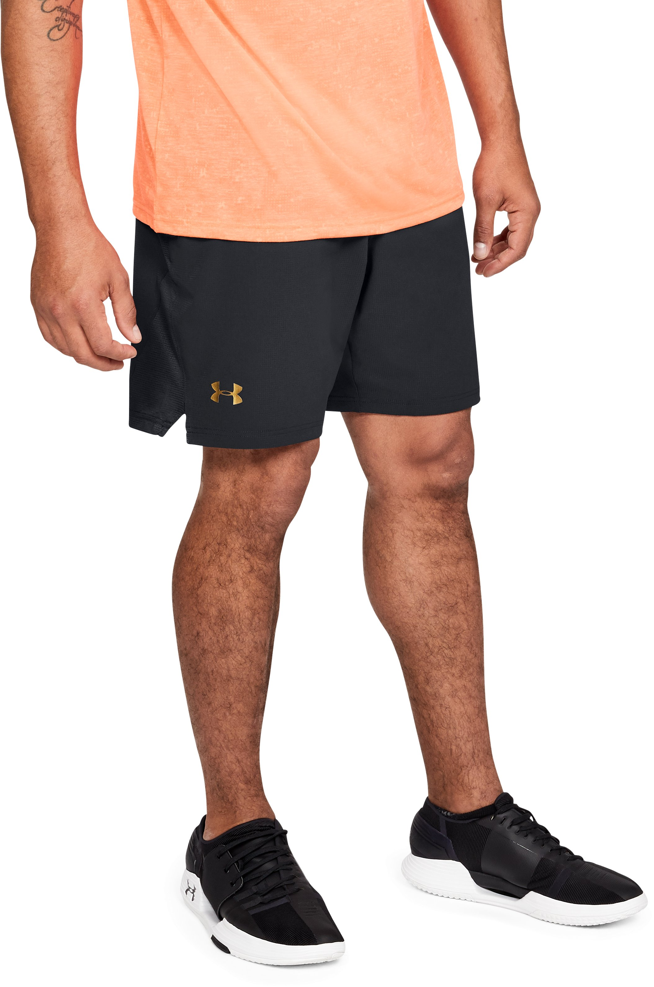 Men's UA Podium Shorts, Black