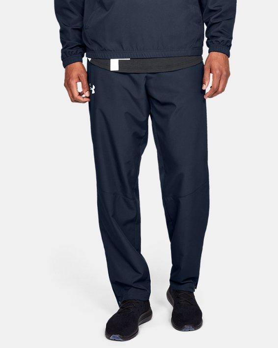 Pantalon UA Sportstyle Woven pour homme, Navy, pdpMainDesktop image number 0