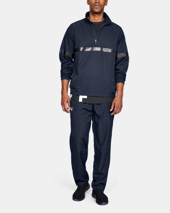 Pantalon UA Sportstyle Woven pour homme, Navy, pdpMainDesktop image number 1