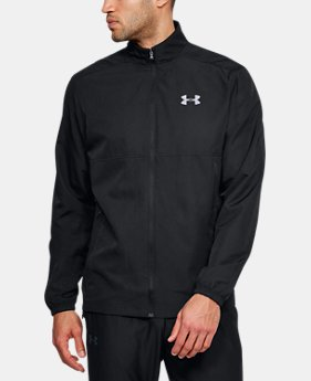 Men's UA Sportstyle Woven Full Zip Jacket  1  Color Available $50