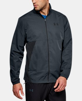 Men's UA Sportstyle Woven Full Zip Jacket  1  Color Available $45