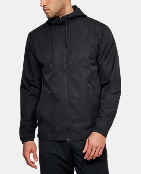 Men's UA Sportstyle Woven Full Zip Hoodie  3  Colors Available $60