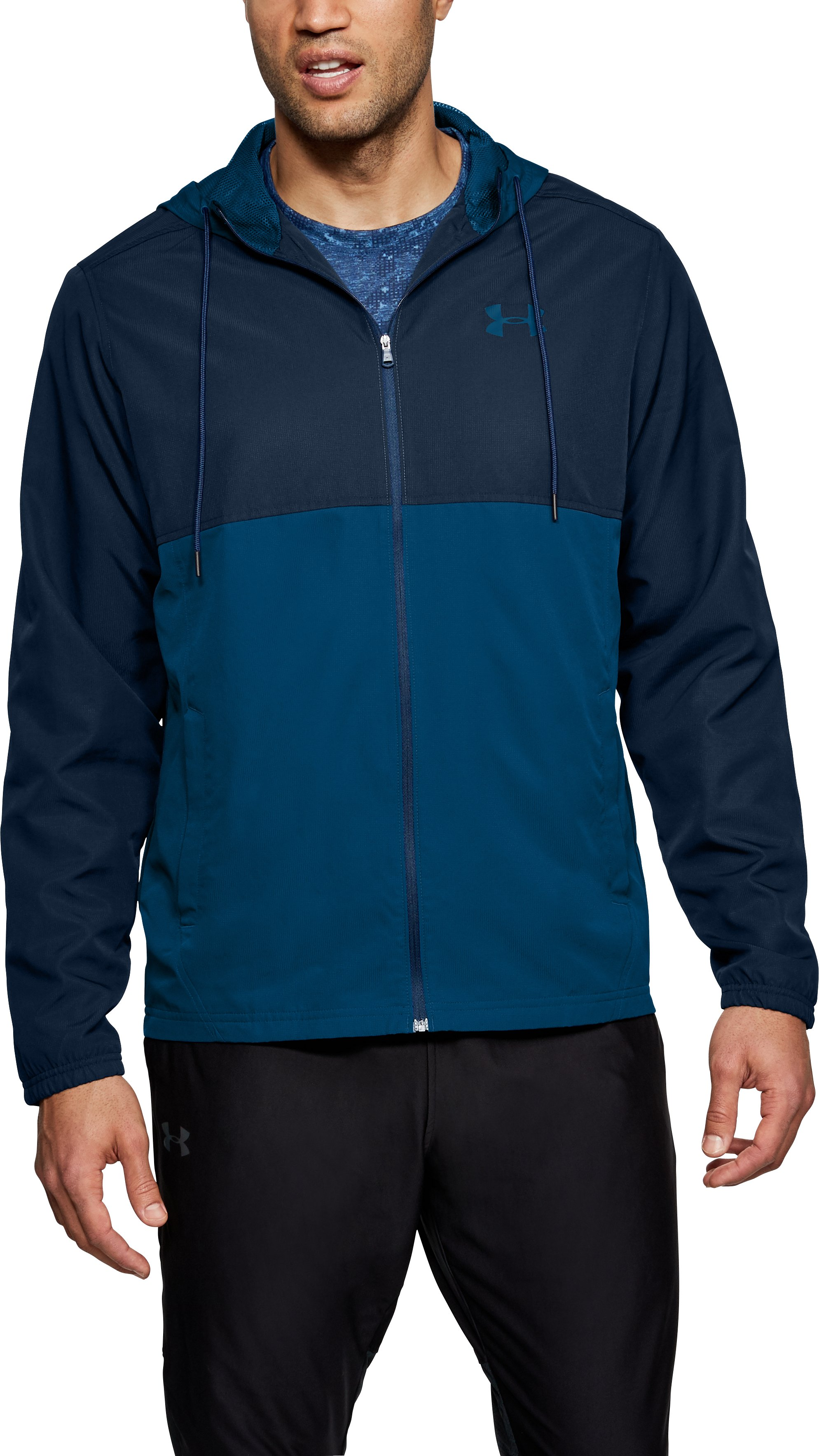 Men's UA Sportstyle Woven Full Zip Hoodie 2 Colors $33.00