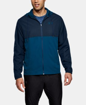 New Arrival Men's UA Sportstyle Woven Full Zip Hoodie  3 Colors $55