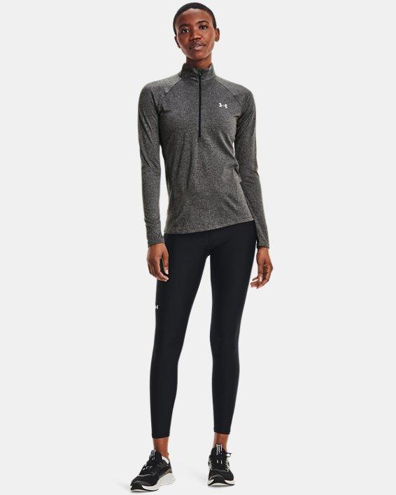 Women's UA Tech™ ½ Zip, Gray, pdpMainDesktop image number 4