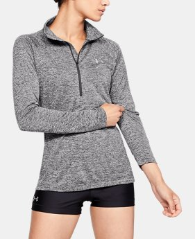 Women's UA Tech™ Twist ½ Zip LIMITED TIME ONLY 2  Colors Available $31.5