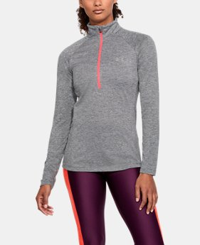 Women's UA Tech™ Twist ½ Zip  1  Color Available $37.5