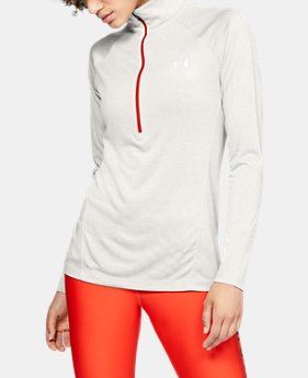 Women's UA Tech™ Twist ½ Zip  2  Colors Available $33.75 to $33.99