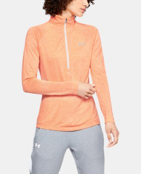 Women's UA Tech™ Twist ½ Zip  4  Colors Available $45