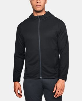 Men's UA MK-1 Terry Full Zip Hoodie  3  Colors Available $70