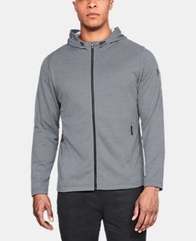 Men's UA MK-1 Terry Full Zip Hoodie  2  Colors Available $60
