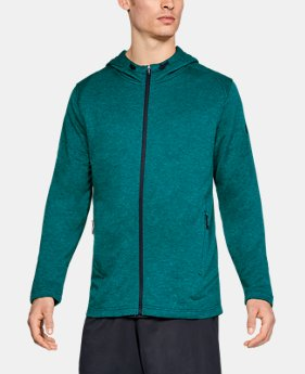 Men's UA MK-1 Terry Full Zip Hoodie  3 Colors $60