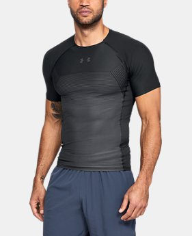 New Arrival Men's UA Vanish Compression Short Sleeve  2  Colors $45