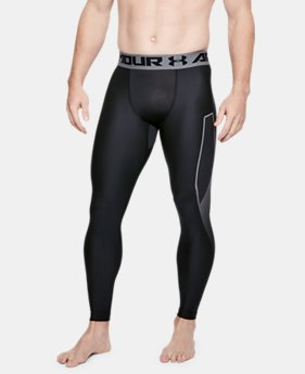 Men's HeatGear® Armour Leggings Graphic  1  Color Available $27 to $33.75