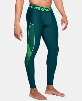 Men's HeatGear® Armour Leggings Graphic  1  Color Available $45